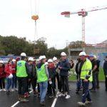 Visite du chantier