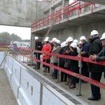 Visite du chantier par les élus